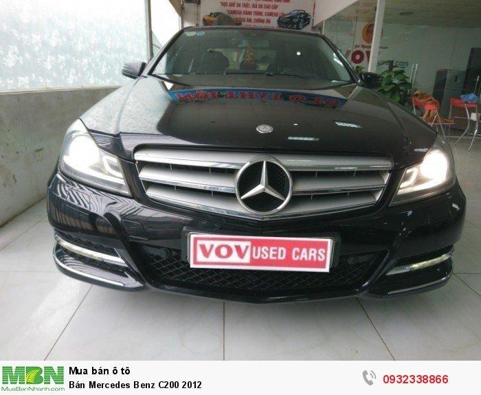 Bán Mercedes Benz C200 2012