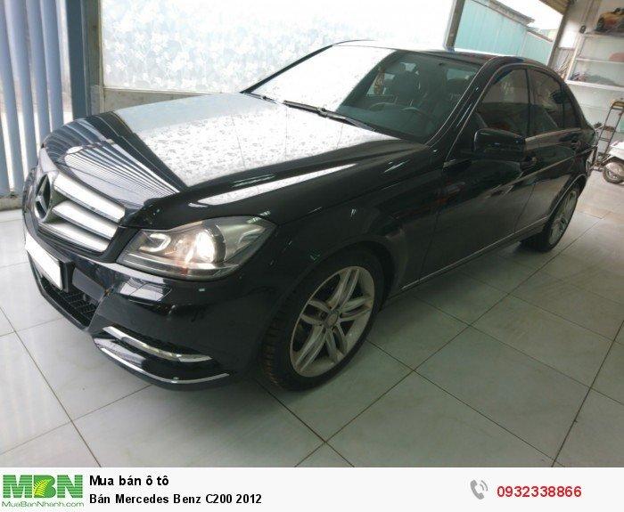 Bán Mercedes Benz C200 2012 1