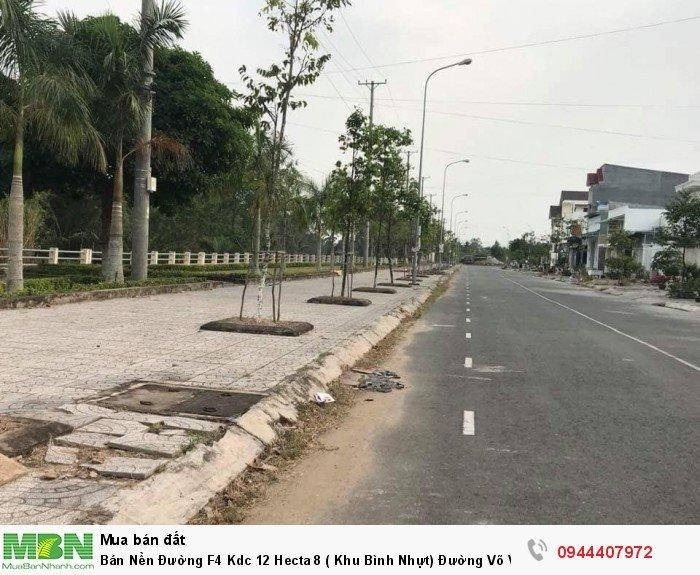 Bán Nền Đường F4 Kdc 12 Hecta 8 ( Khu Bình Nhựt) Đường Võ Văn Kiệt