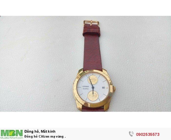 Đồng hồ Citizen mạ vàng .0