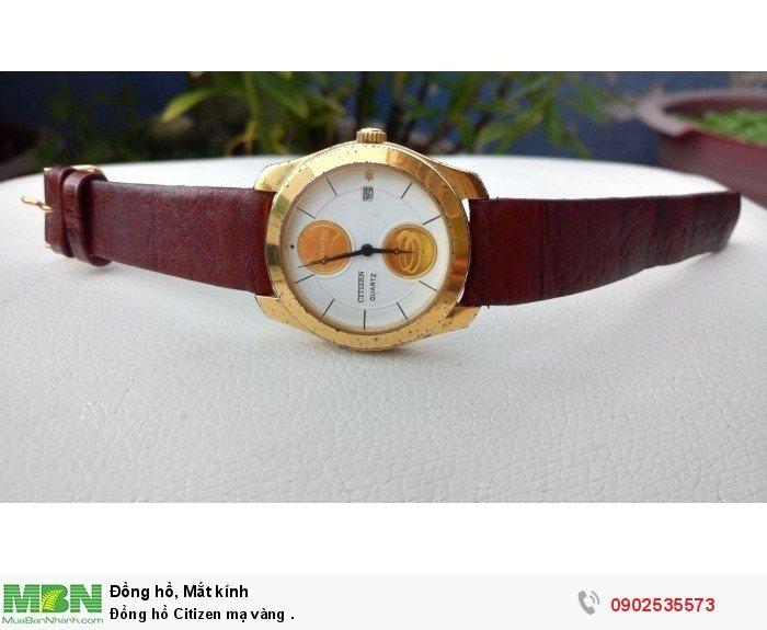 Đồng hồ Citizen mạ vàng .2