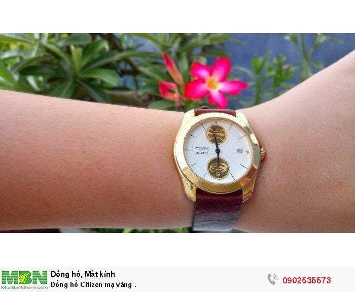 Đồng hồ Citizen mạ vàng .3