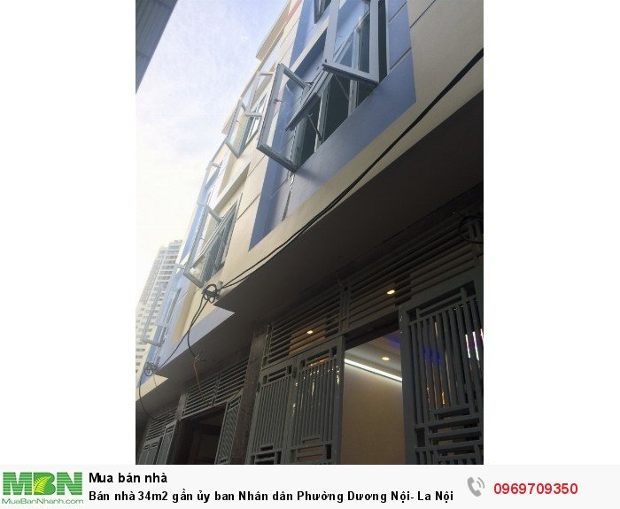 Bán nhà 34m2 gần ủy ban Nhân dân Phường Dương Nội- La Nội thông ra khu Đô thị Nam Cường chỉ 1,55 tỷ
