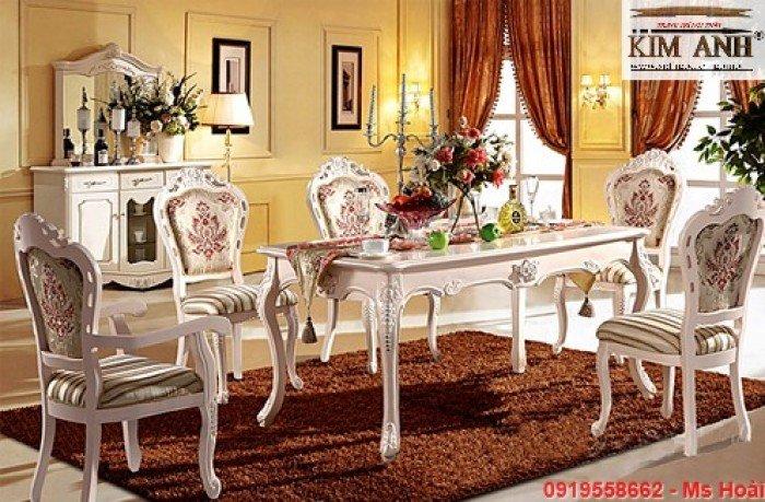 [8] Giá bàn ăn cổ điển TPHCM, Nơi bán bàn ghế ăn tân cổ điển uy tín giá rẻ