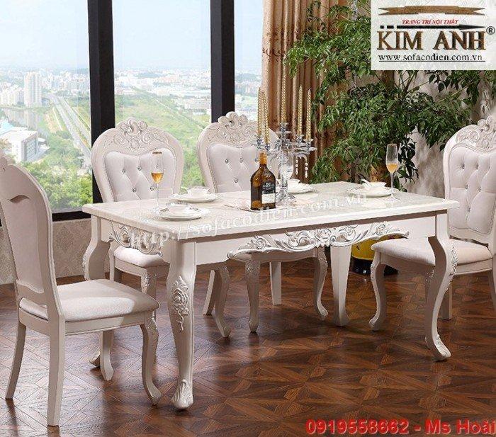 [7] Giá bàn ăn cổ điển TPHCM, Nơi bán bàn ghế ăn tân cổ điển uy tín giá rẻ