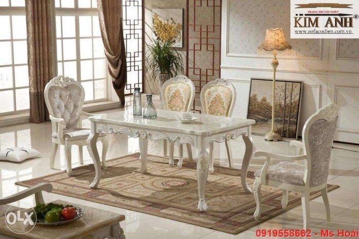 [6] Giá bàn ăn cổ điển TPHCM, Nơi bán bàn ghế ăn tân cổ điển uy tín giá rẻ