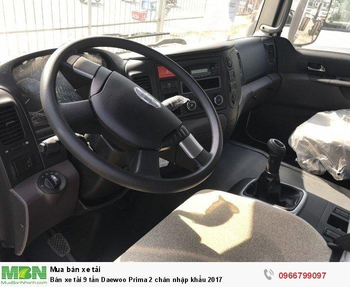 Bán xe tải 9 tấn Daewoo Prima 2 chân nhập khẩu 2017 4