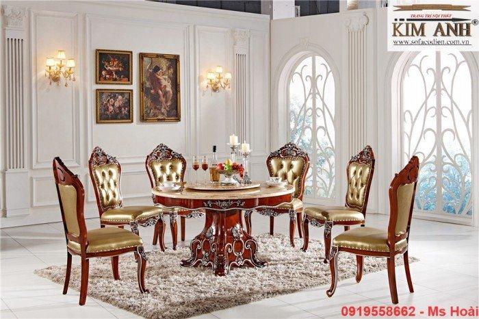 [5] Giá bàn ăn cổ điển TPHCM, Nơi bán bàn ghế ăn tân cổ điển uy tín giá rẻ