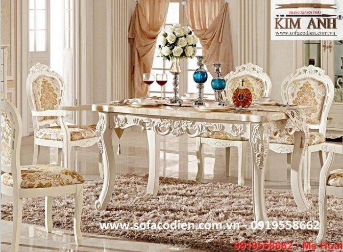 [4] Giá bàn ăn cổ điển TPHCM, Nơi bán bàn ghế ăn tân cổ điển uy tín giá rẻ