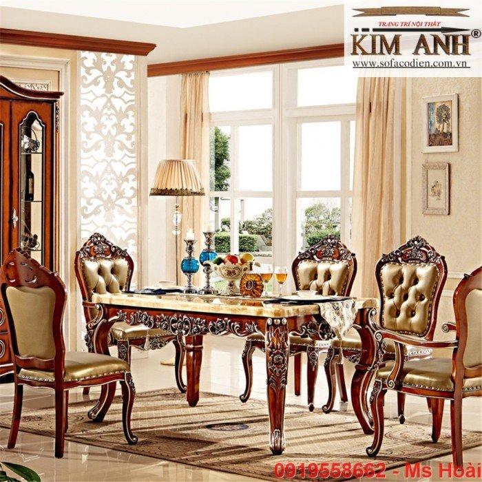 [3] Giá bàn ăn cổ điển TPHCM, Nơi bán bàn ghế ăn tân cổ điển uy tín giá rẻ