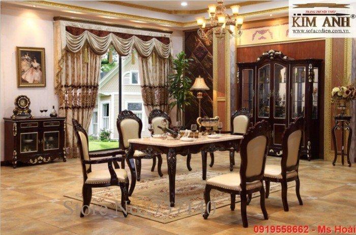 [2] Giá bàn ăn cổ điển TPHCM, Nơi bán bàn ghế ăn tân cổ điển uy tín giá rẻ