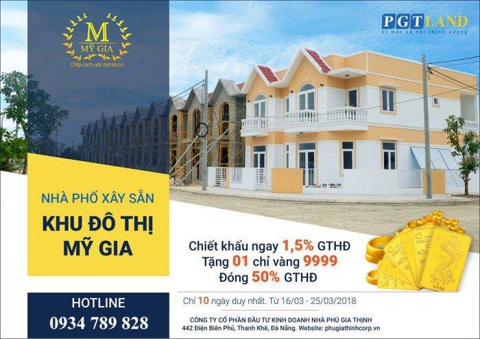 Nhà phố xây sẵn giá rẻ, tiềm năng kinh tế cao, thanh toán chỉ 600tr