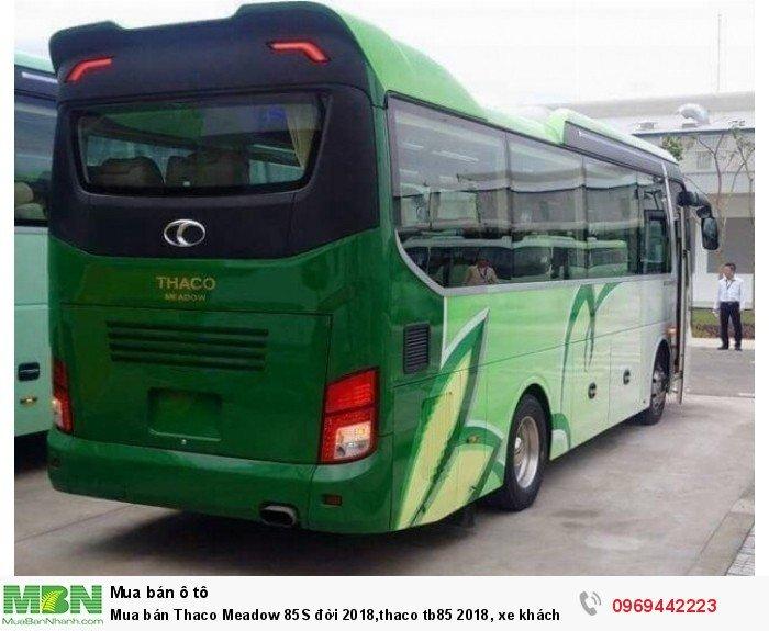 Mua bán Thaco Meadow 85S đời 2018,thaco tb85 2020, xe khách 29 chỗ đời mới 2020, xe khách 34 chỗ, 6 bầu hơi