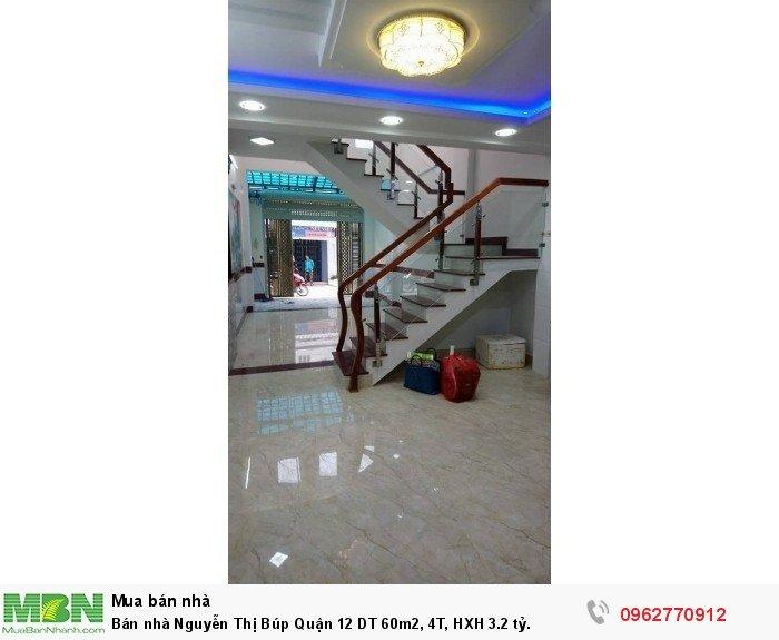 Bán nhà Nguyễn Thị Búp Quận 12 DT 60m2, 4T, HXH 3.2 tỷ.