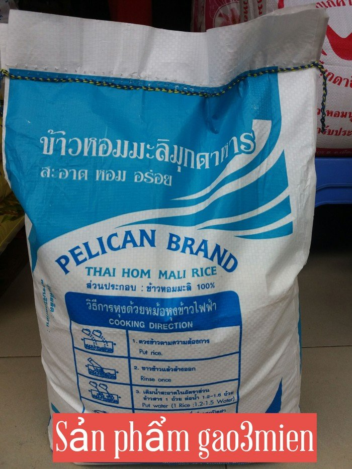 Gạo thái nhập khẩu con én xanh0