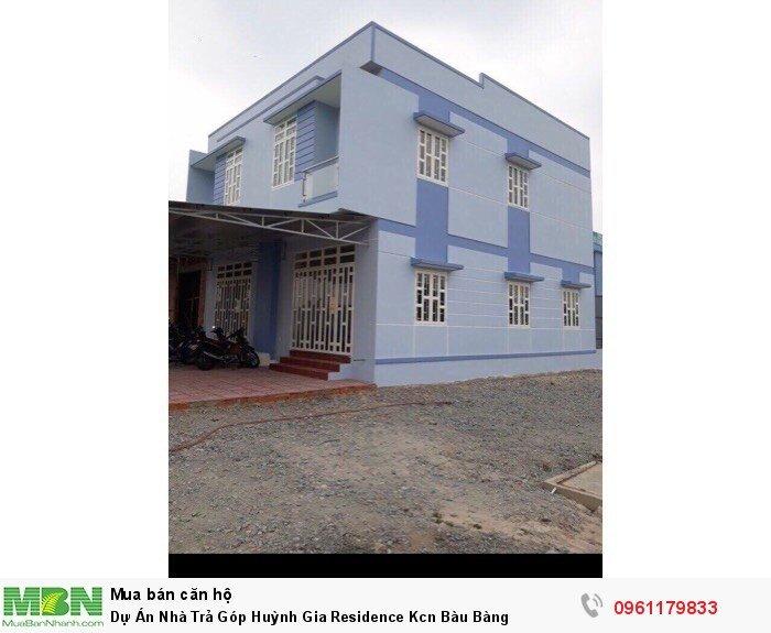 Dự Án Nhà Trả Góp Huỳnh Gia Residence Kcn Bàu Bàng