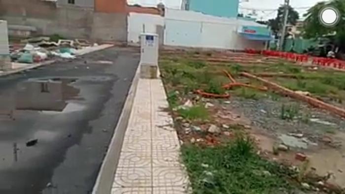 Đất lô góc 2 mặt tiền đường 36m quận Tân Phú