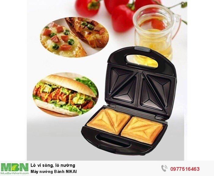 Máy nướng Bánh NIKAI1
