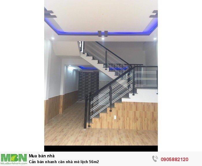 Cần bán nhanh căn nhà mê lệch 56m2