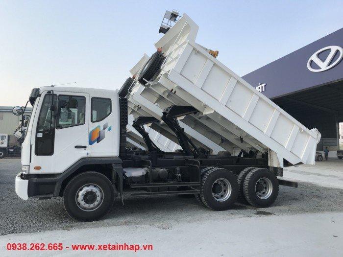 Xe tải Ben Daewoo15 tấn 3 chân
