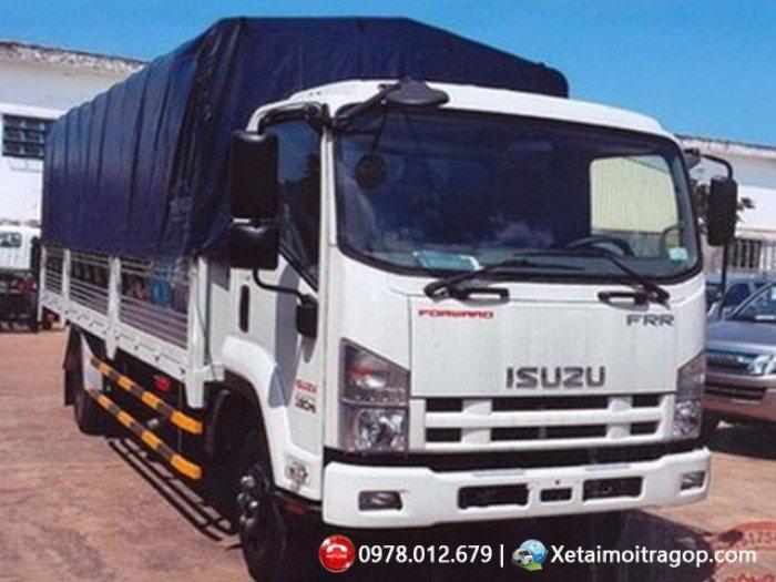 Bán xe tải Isuzu 6 tấn/ FRR90N/ xe tải 6 tấn/ thùng dài 6m6 - Bao vay cao