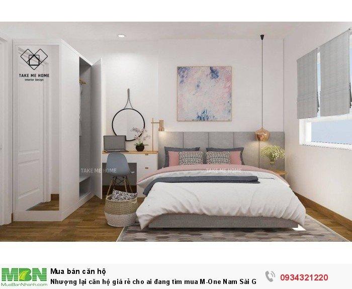 Nhượng lại căn hộ giá rẻ cho ai đang tìm mua M-One Nam Sài Gòn 61m2
