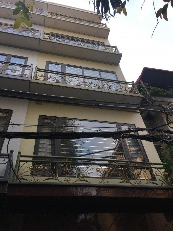 Bán nhà 4 tầng DT 40m2mặt ngõ 67 Đỗ Quang – Trung Hòa