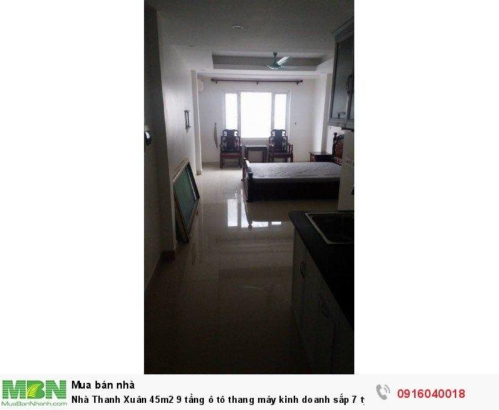 Nhà Thanh Xuân 45m2 9 tầng ô tô thang máy kinh doanh sắp 7 tỷ