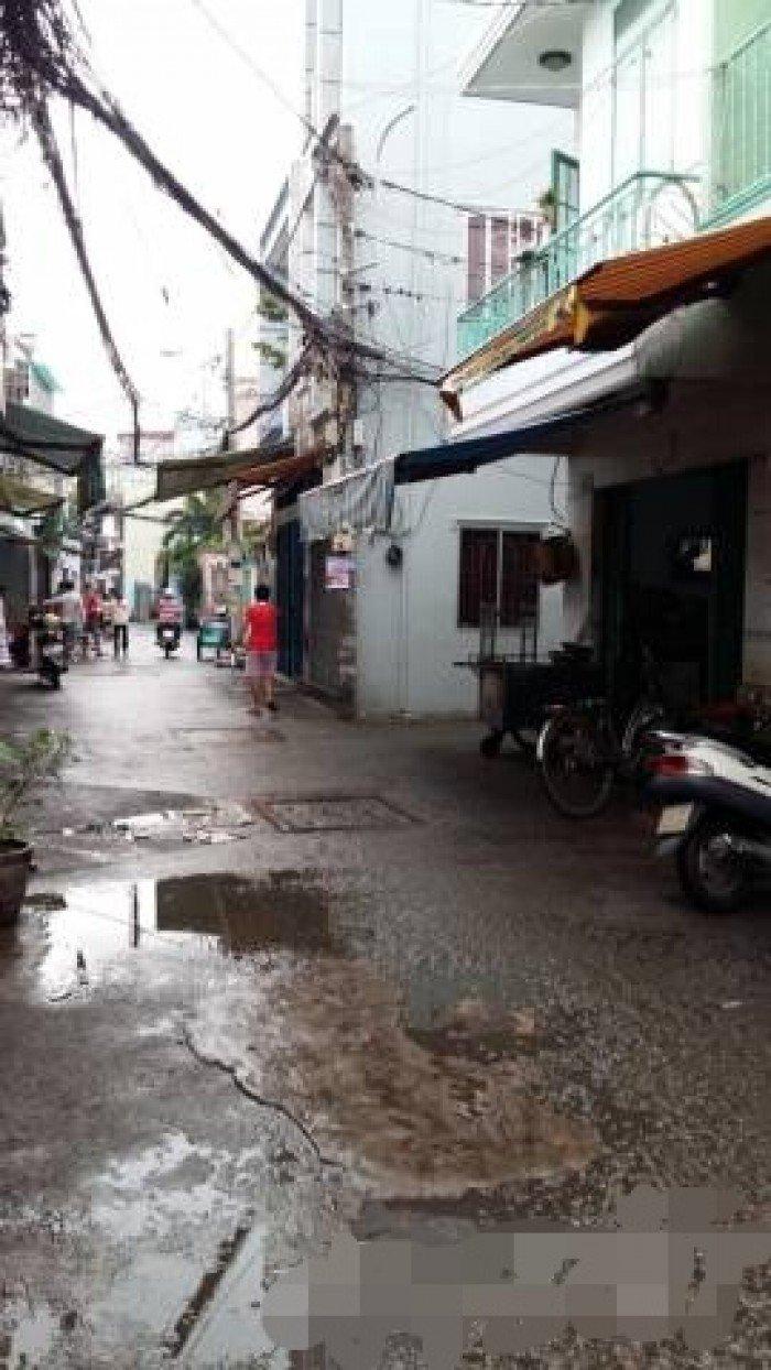 Nhà Quận 6, hẻm 1 sẹc, đường Phạm Văn Chí P8 Q6.
