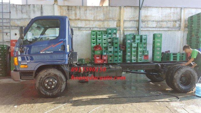 Xe tải Hyundai 8 tấn nhập nguyên cục
