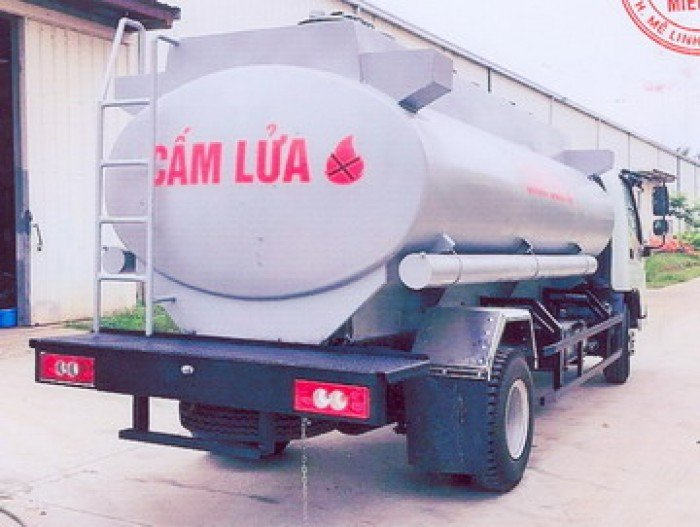 Ô tô xitec chở xăng dầu 9 khối