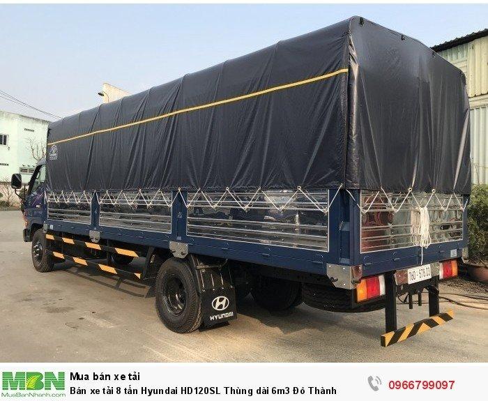 Bán xe tải 8 tấn Hyundai HD120SL Thùng dài 6m3 Đô Thành 1