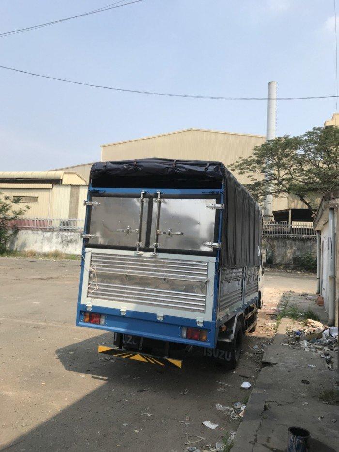 Xe tải Isuzu 2T4 thùng 3m6 - Xe Isuzu 2.4Tan QKR77F - Isuzu 2018 Euro 4 giao ngay