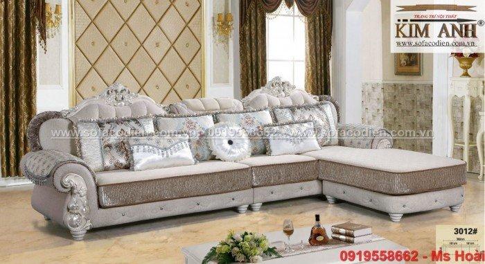 [5] Nội thất phòng khách cổ điển, sofa tân cổ điển tphcm, cần thơ giá rẻ