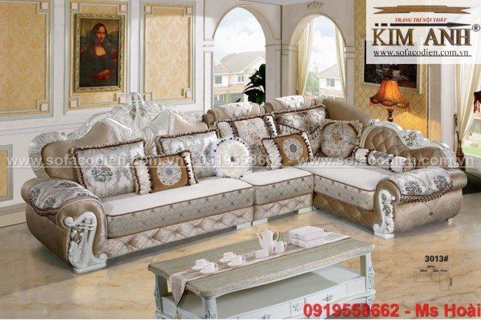[4] Nội thất phòng khách cổ điển, sofa tân cổ điển tphcm, cần thơ giá rẻ