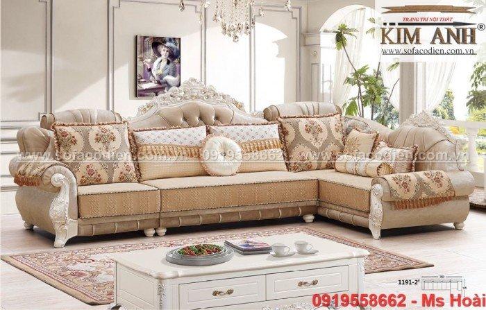 [3] Nội thất phòng khách cổ điển, sofa tân cổ điển tphcm, cần thơ giá rẻ