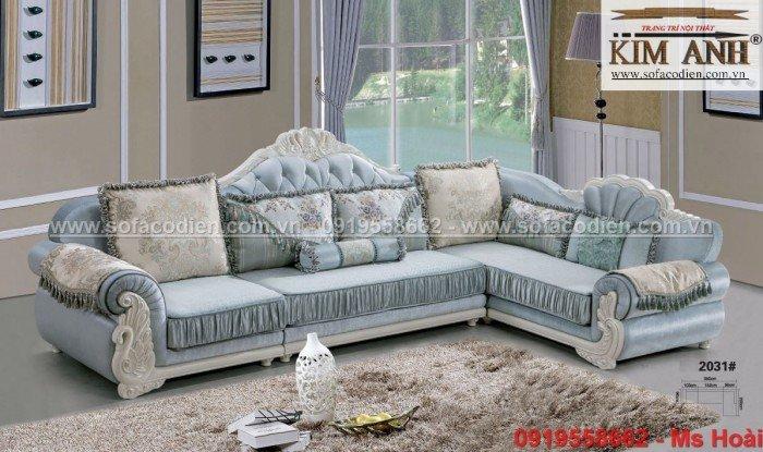 [2] Nội thất phòng khách cổ điển, sofa tân cổ điển tphcm, cần thơ giá rẻ