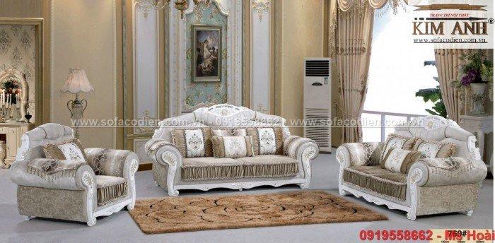 Nội thất phòng khách cổ điển, sofa tân cổ điển tphcm, cần thơ giá rẻ