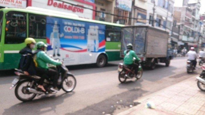 Nhà MT 4 tầng Nguyễn Phúc Nguyên KD sầm uất cho thuê 1/2 trệt 10 triệu