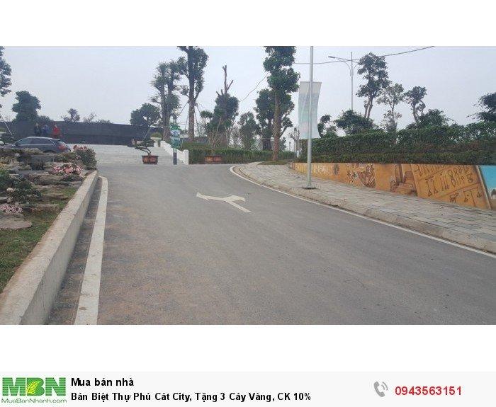 Bán Biệt Thự Phú Cát City, Tặng 3 Cây Vàng, CK 10%
