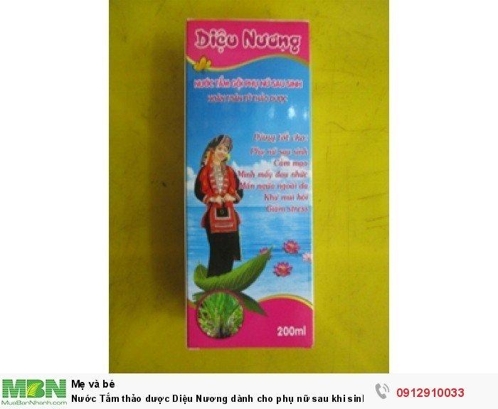 Nước Tắm thảo dược Diệu Nương dành cho phụ nữ sau khi sinh rất tiện , dễ sử dụng bán tại quận 50