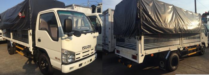 Xe tải isuzu/xe tải isuzu 3t5 - isuzu 3.5 tấn thùng mui bạt.