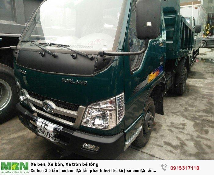 Xe ben 3,5 tấn | xe ben 3,5 tấn phanh hơi lôc kê | xe ben3,5 tấn và 4,2 tấn Hải Phòng