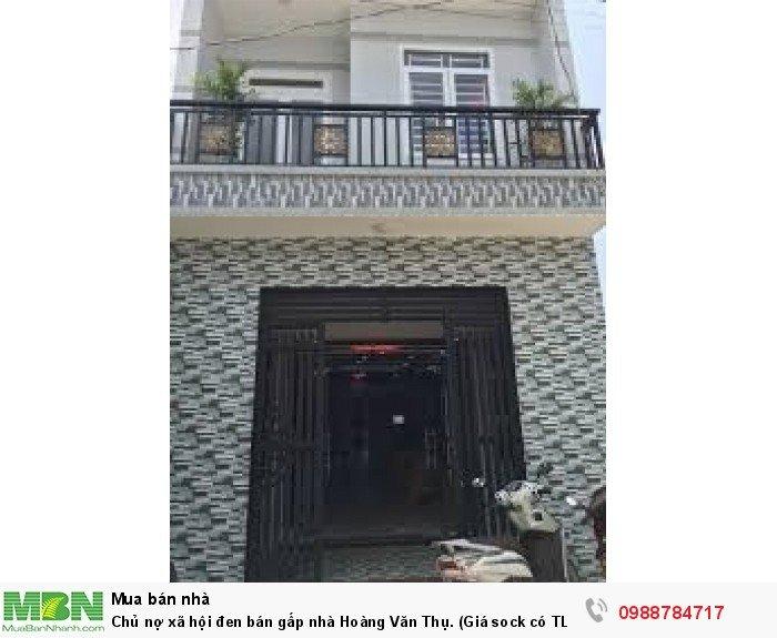 Chủ nợ xã hội đen bán gấp nhà Hoàng Văn Thụ. (Giá sock có TL)
