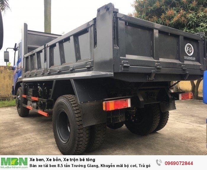 Bán xe tải ben 8.5 tấn Trường Giang, Khuyễn mãi bộ cơi, Trả góp 177tr, Giao xe ngay 3