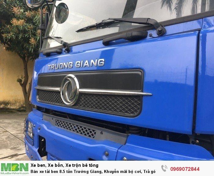 Bán xe tải ben 8.5 tấn Trường Giang, Khuyễn mãi bộ cơi, Trả góp 177tr, Giao xe ngay 4
