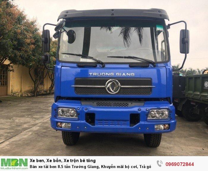 Bán xe tải ben 8.5 tấn Trường Giang, Khuyễn mãi bộ cơi, Trả góp 177tr, Giao xe ngay 6
