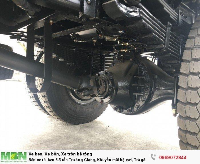 Bán xe tải ben 8.5 tấn Trường Giang, Khuyễn mãi bộ cơi, Trả góp 177tr, Giao xe ngay 11