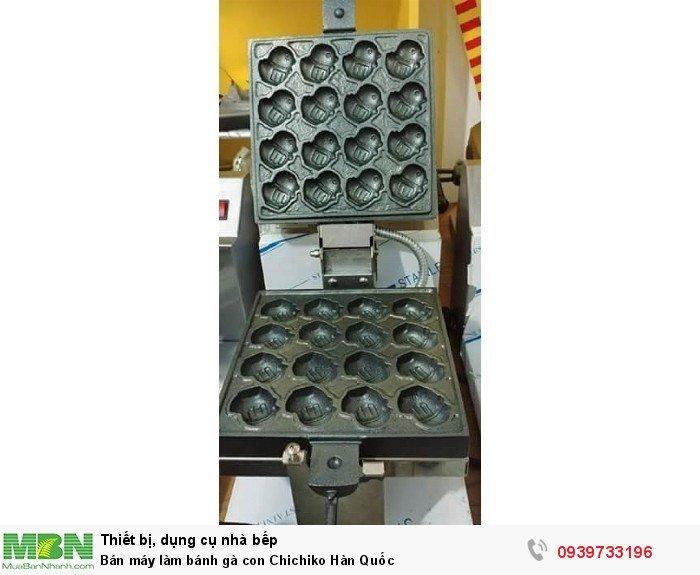 máy làm bánh gà ChiChiKo Hàn quôc nhập khẩu tại Hàn1
