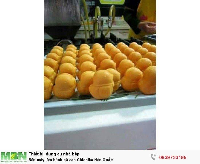 máy làm bánh gà Hàn quôc nhập khẩu tại Hàn2